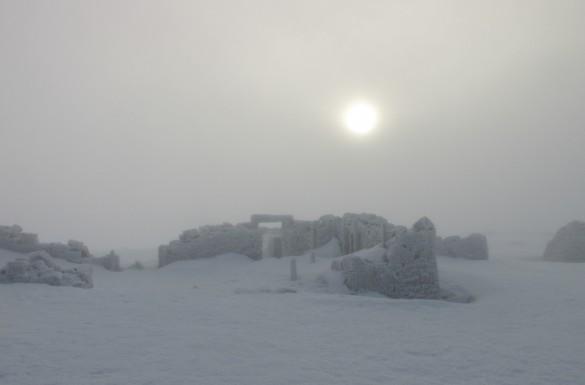 Schotland ben Nevis winter sneeuw ijs wit