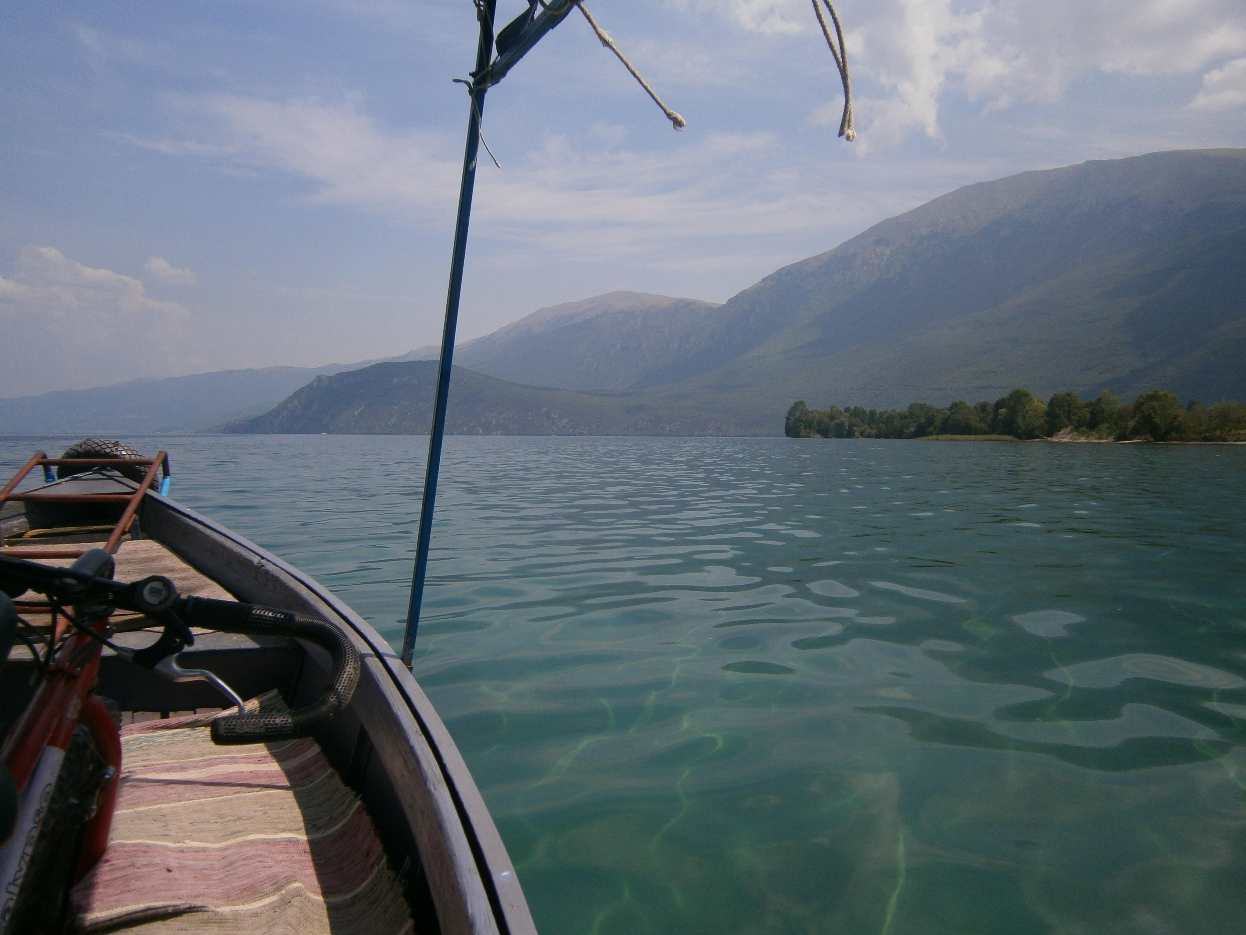 Meer Ohrid Blauw