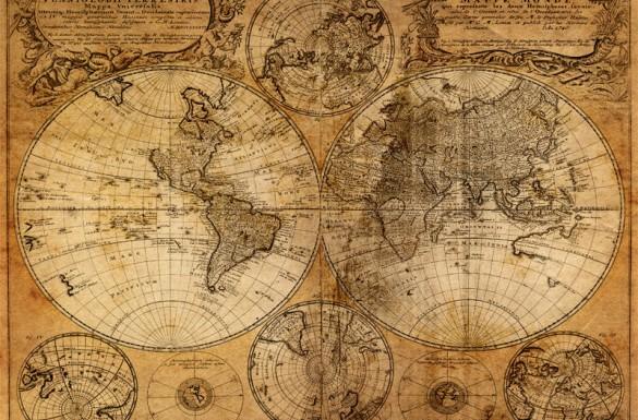 kaart van de wereld, wereld kaart, reis kaart