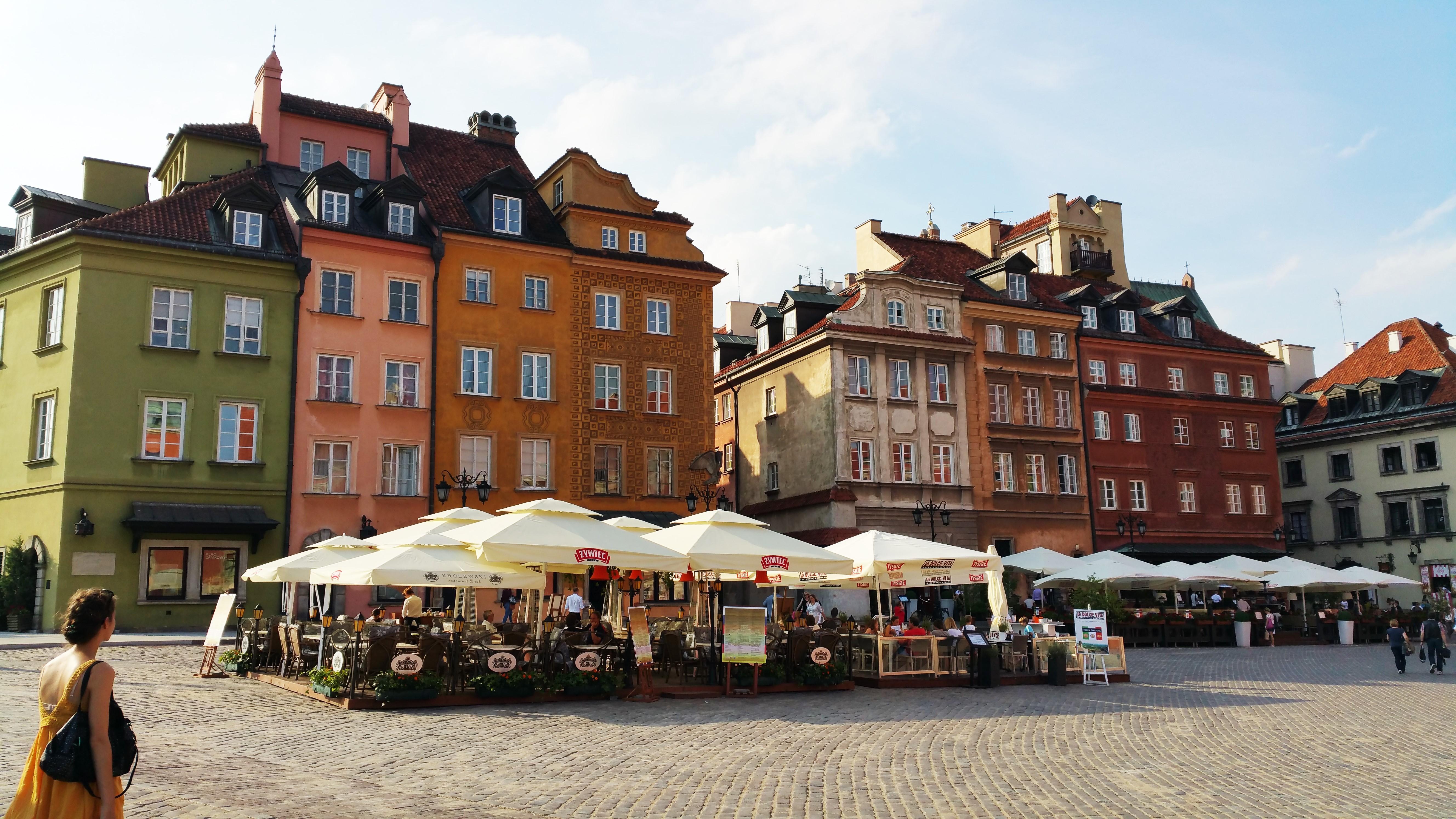 warschau polen stedentrip europa eten diner