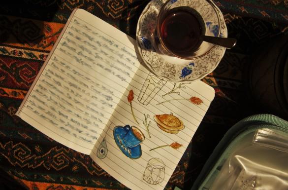 theetuin istanbul turkije ontspannen thee