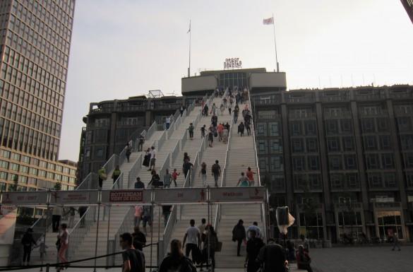 Rotterdam hotspots citytrip stedentrip de trap