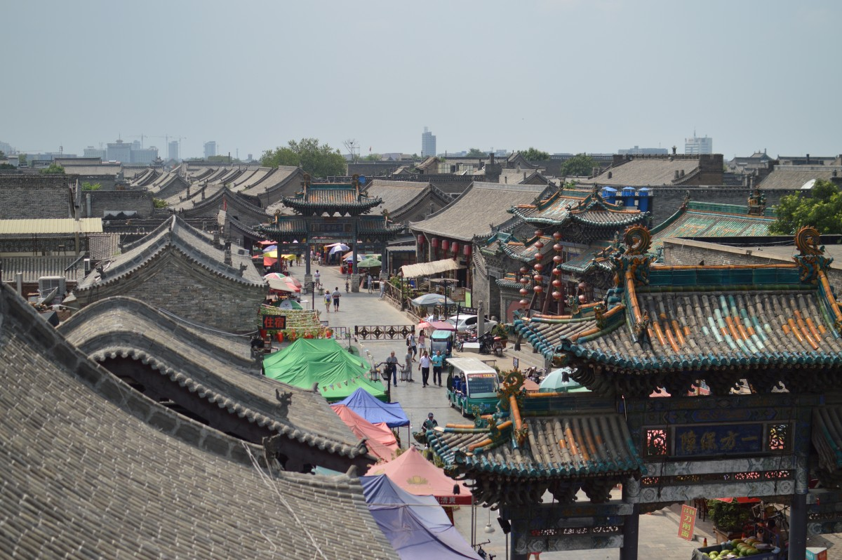Pingyao China Beijing Transsiberie Express Transmongolië Express ORMOH