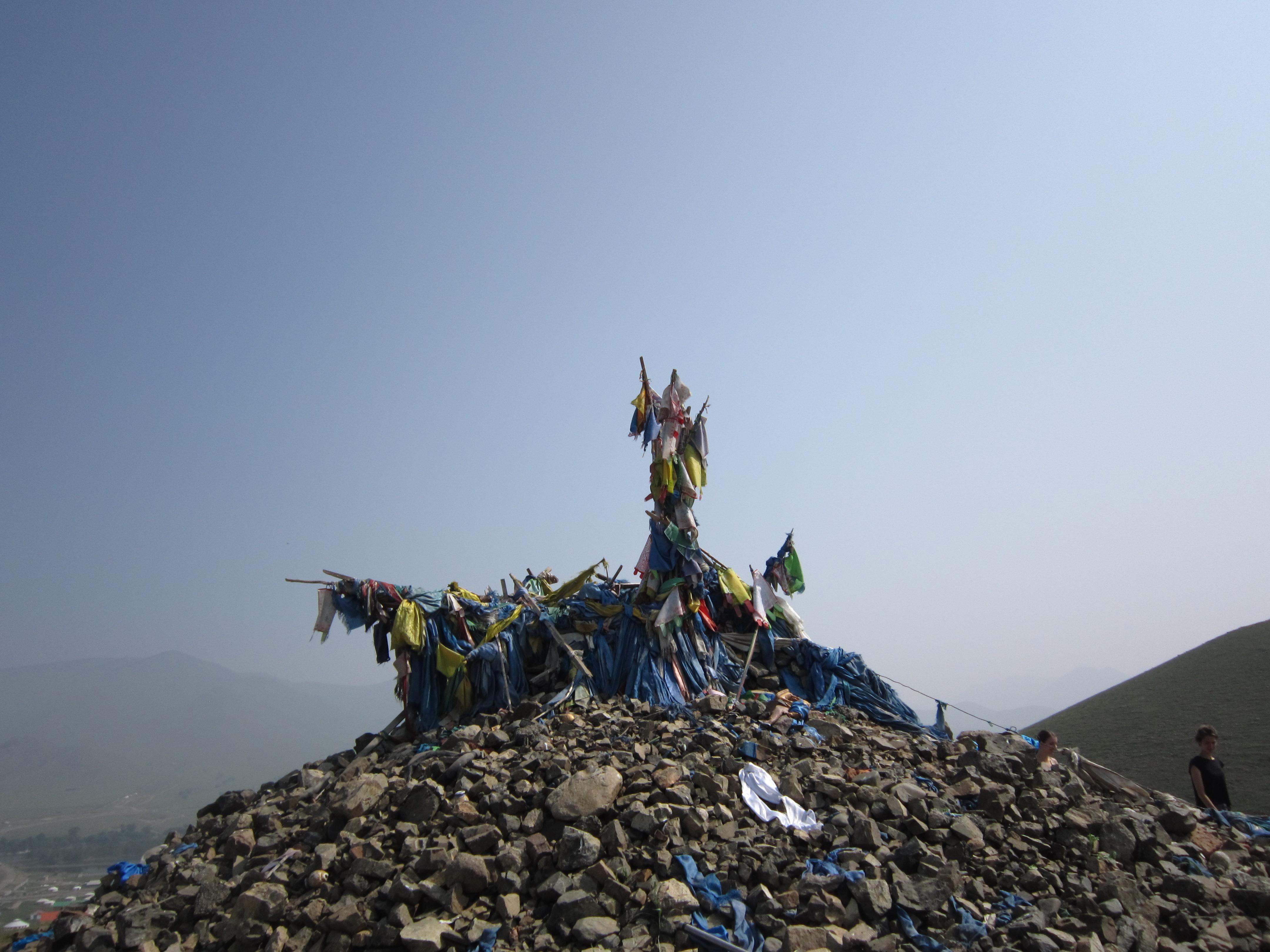 sjamanisme mongolië ovoo religie offer rondreis ulaanbataar cultuur bijgeloof