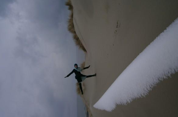 Vlieland Noordzee Waddenzee Waddeneiland eiland winter wandelen natuur koud