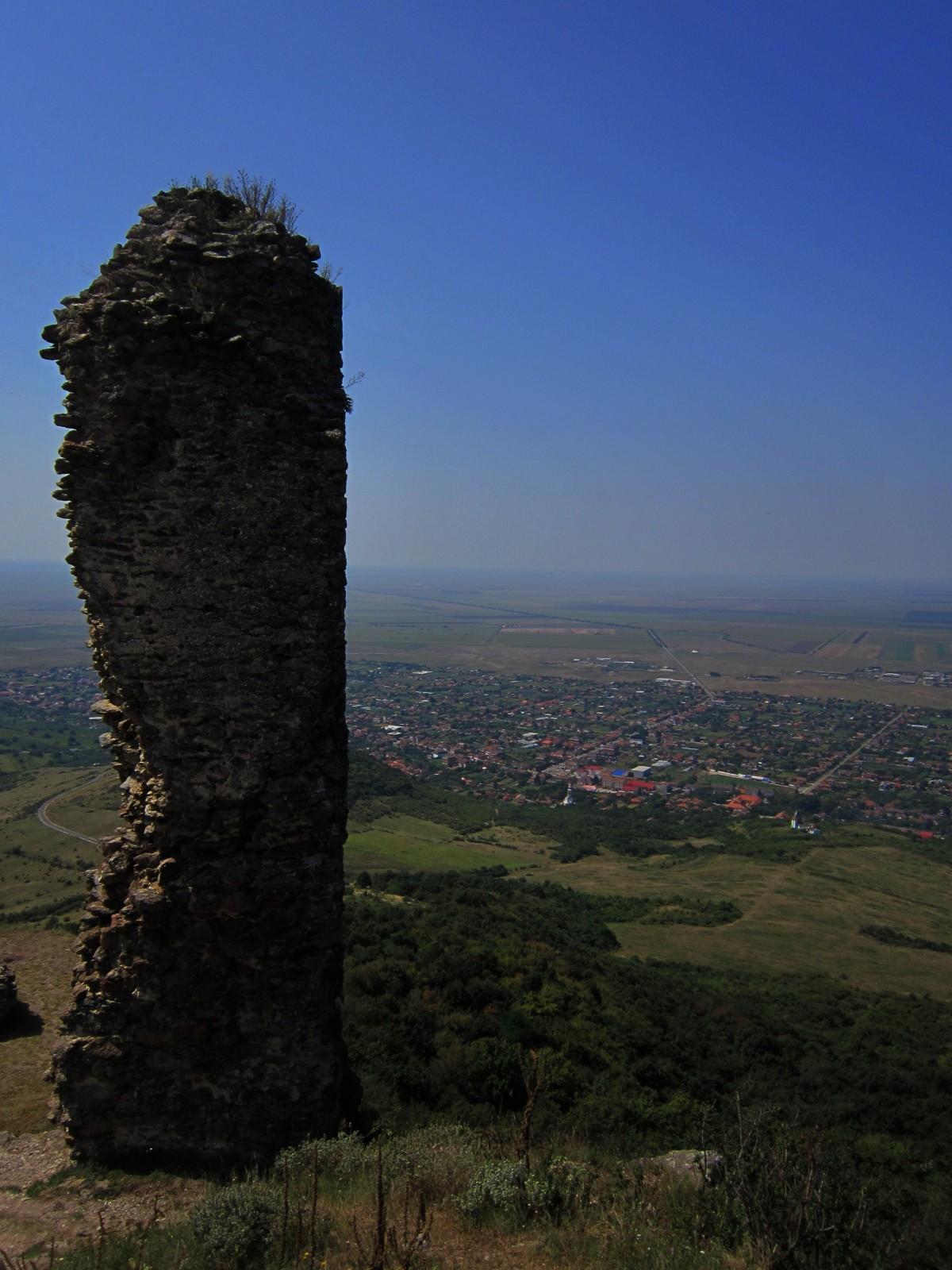Cetatea Siria Karpaten Roemenië Vladimir de Spietser Wandelen Bergen Mountains Hongaarse Vlakte Ruïnes Avontuur Natuur