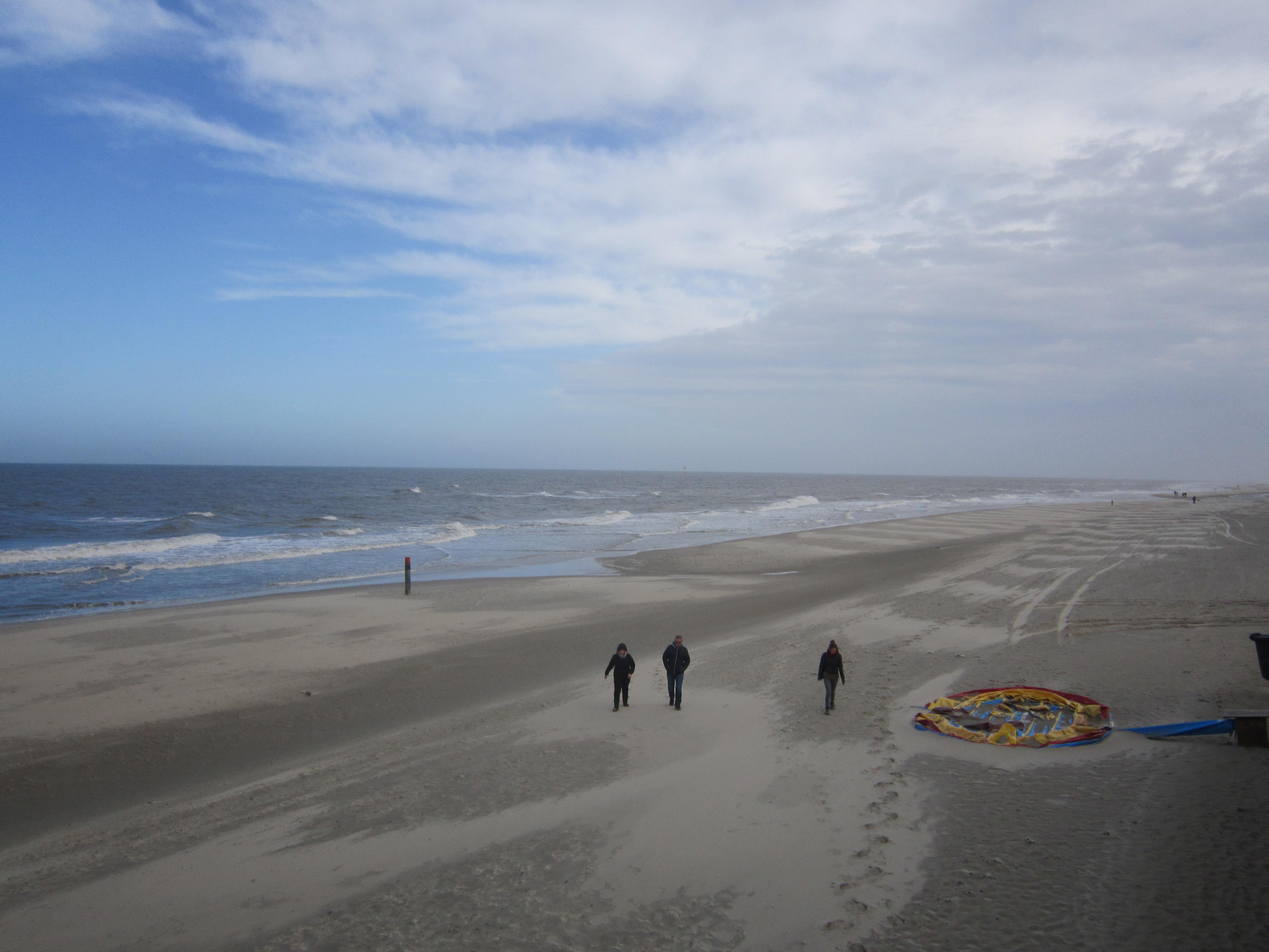 Texel waddeneiland ORMOH winter kamperen