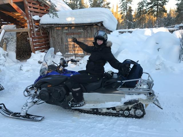 Lapland ORMOH Op reis met ome hein Finland Noorwegen Winter Sneeuw Husky Husky's Sneeuw Slee Ijs Kou